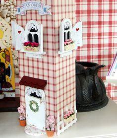 Poşetlik modellleri Wood Crafts, Diy Crafts, Craft Box, Decoration, Bird Houses, Painting On Wood, Ideas Para, Christmas Crafts, Ceramics