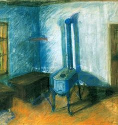 Lajos Tihanyi - The inside of a Room