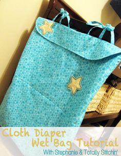 Totally Stitchin': Cloth Diaper Wet Bag Tutorial