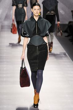 This looks a little like something a Capitol citizen might wear (Fendi)