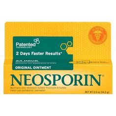 Neosporin 24 Hour Infection Protection First Aid Antibiotic Ointment - oz Nutritional Supplements, Weight Loss Supplements, Diy First Aid Kit, First Doctor, Wound Care, Medical, 1 Oz, Health And Beauty, Health Care