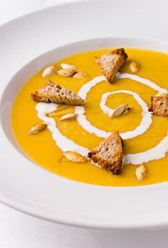 Pumpkin Soup (Dýňová polévka)