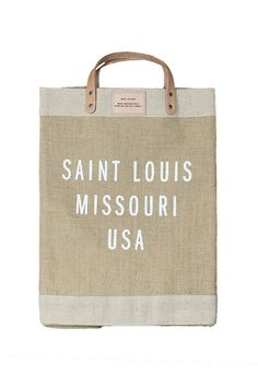 Saint Louis Market Bag