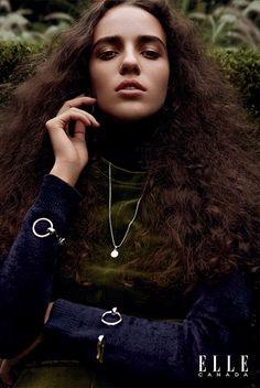 Emm Arruda | Elle Canadá Dezembro 2016 | Editoriais - Revistas de Moda