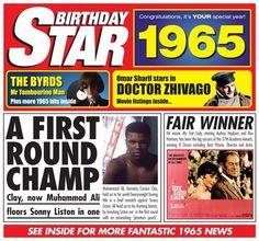 1965 Birthday Star
