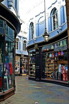 Morgan Arcade - Cardiff, Wales, by Mary Sawtell on Shared by Motorcycle Fairings - Motocc Cardiff Bay, Cardiff Wales, Wales Uk, South Wales, Europa Tour, Cardiff University, Visit Wales, Brecon Beacons, Rome