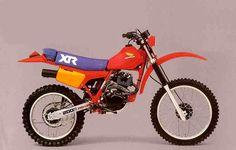 HONDA XR200R 83