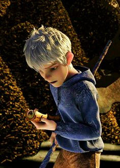 Jack Frost-- If this story was expanded on further.. Hmmm...