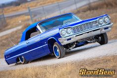 How about a 64 to go with that bike? Lowrider, Lifted Chevy Trucks, Pedal Cars, Dirtbikes, Chevrolet Impala, Dodge Charger, My Ride, Old Cars, Muscle Cars