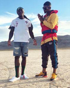 "Ace Hood stars in a music video for his ""Fwea"" single featuring Slim Diesel Kid Ink, Trinidad James, Ace Hood, Mrs Carter, John Legend, Channing Tatum, Celebrity Dads, Chris Brown, Hugh Jackman"