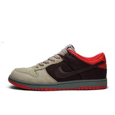 quality design c51c4 60521 Nike Dunk Low CL (brown  beige  red  grey)
