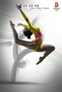 Olympic Games Poster 2008 Beijing