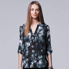 d61f8ff1040 Vera Wang Petite Simply Vera Essential Popover Top in 2019