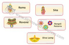 FREE Diwali Words printable Early Years/EY (EYFS) resource/download — Little Owls Resources - FREE Literacy Games, Learning Activities, Nursery Practitioner, Early Years Teacher, Eyfs, Nursery Rhymes, Diwali, Phonics, Communication