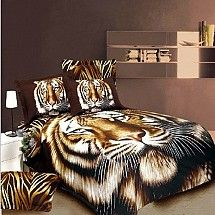 Disgusting! Can't handle tiger print bed covers