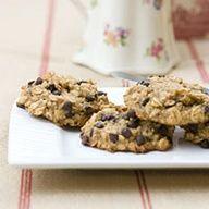 Banana, oatmeal and chocolate chip cookies
