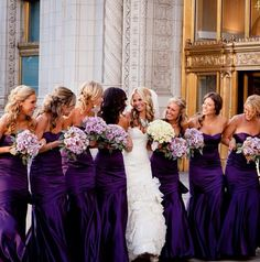 My dream purple wedding ~ Picture found on Instagram
