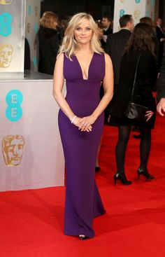 Keira Knightley, Reese Witherspoon, & More Shine at the 2015 BAFTAs via @WhoWhatWear  WHO: Reese Witherspoon  WHAT: Nominee, Leading Actress for Wild  WEAR: Stella McCartney gown; Tiffany & Co. jewelry; Jimmy Choo heels.