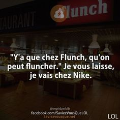 Du coup ta que chez Nike qu'on peut niker 😂😂 Image Fun, Lol, Orlando Magic, Words To Describe, Funny Pictures, Jokes, Messages, Humor, Feelings