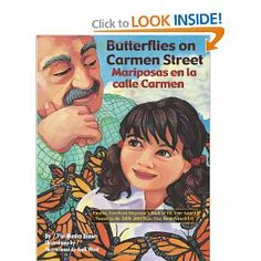 Suggested books and resources for teaching Butterfly Life Cycle (Ciclo de vida de la mariposa) unit in Spanish