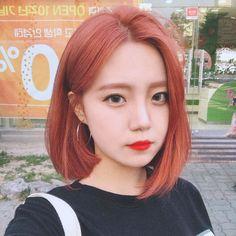 Hair short styles korean ulzzang 49 Ideas for 2019 Ulzzang Short Hair, Korean Short Hair, Ulzzang Hairstyle, Short Dyed Hair, Girl Short Hair, Pelo Ulzzang, Korean Ulzzang, Korean Hair Color, Kpop Hair