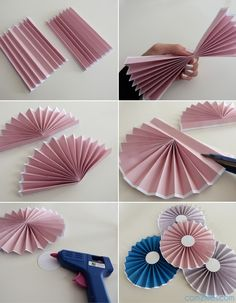 DIY : le tuto des rosaces en papier – niveau facile Related Post Hot air Balloons Easy origami Christmas ornament Decoration Tutorial}, http_status: window.Making of DIY Paper Flowers Wedding Bouquet - If you are preparing to attend the wedding cer Diy Origami, Hanging Origami, Useful Origami, Origami Paper, Origami Envelope, Origami Design, Paper Flowers Wedding, Paper Flowers Diy, Origami Flowers