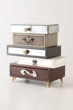 Topsy-Turvy Jewelry Box by Anthropologie Multi One Size Bath