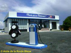 Musée de la Nationale 7 Old Garage, Routes, France, Gas Station, Badge, Automobile, Coins, Vintage, Souvenir