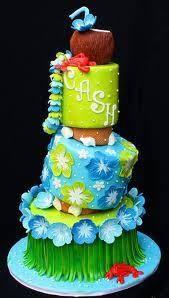 hawaiian themed baby shower cakes - Google Search
