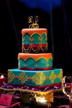 Love the colour of this Disney Inspired Wedding #9 : Aladdin Arabian Inspired Wedding