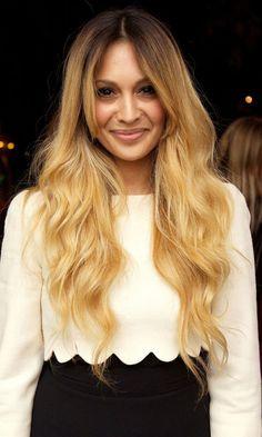 Zara Martin With Dip Dye Hair, 2011