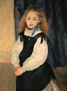 Pierre-Auguste Renoir - portrait de la fille Legrand