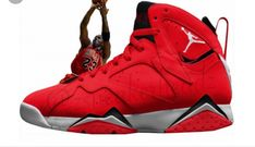 9b38d9f2c3a4 Air Jordan 7  University Red  is Inspired by MJ s Fadeaway