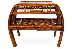 2-Tiered Bamboo Table on OneKingsLane.com