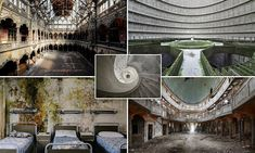 These haunting pictures were captured by Italian photographer and urban explorer Nicola Bertellotti and tell the story of once-loved buildings across Europe which have succumbed to nature.