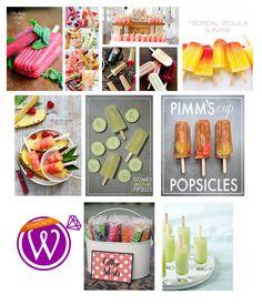 Alcoholic ice lollies - refreshment - 21 Inspiring inspirations - www.weddzer.com