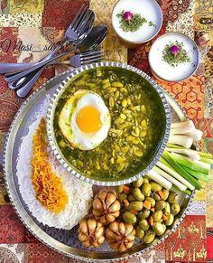 Baghala Ghatogh (باقالا قاتق) | An Iranian dish made with Baghalas, dill, and Eggs. It's usually served with rice in the northern provinces of Iran, such as Gilan and Mazandaran.