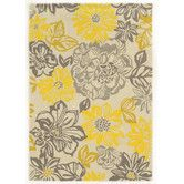 Found it at Wayfair - Trio Grey/Yellow Area Rug. and my new carpet.
