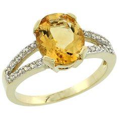 10K Yellow Gold Diamond Halo Natural Citrine Ring Oval 10x8mm, size 7 by Gabriella Gold - See more at: http://blackdiamondgemstone.com/colored-diamonds/jewelry/rings/bands/10k-yellow-gold-diamond-halo-natural-citrine-ring-oval-10x8mm-size-7-com/#sthash.8DNKvlLJ.dpuf