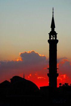 Fascinating Sunset View in Amman, Jordan