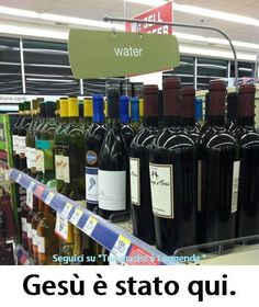 Jesus was here.
