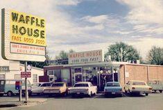 """Waffle House"" Fast Food, Decatur, Georgia, 1968"