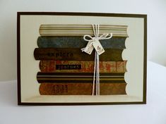 For a book lover by sistersandie - Cards and Paper Crafts at Splitcoaststampers