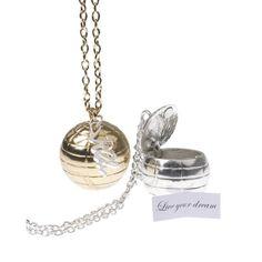 secret message ball necklace