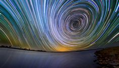 Twisted by Lincoln Harrison, 15 hours exposures, Australia