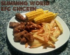 Slimming World Style kentucky fried chicken