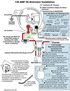 1998 Ford Ranger Alternator Wiring Diagram | Auto | Cars, Ford ... Ford G Alternator Wiring Diagram F Cylinder on