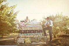 Princess and the Pea Inspired Wedding Shoot