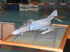 F-4 Phantom - 1:32 Historia Sion 2005 Phantom 1, Scale Models, Fighter Jets, Aircraft, Historia, Aviation, Scale Model, Planes, Airplane