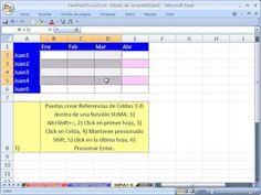 ▶ Excel Facil Truco #23: Consolidacion - YouTube. Bajar el libro de trabajo: http://www.excelfacil123.com.ar/ Como usar la Consolidacion en Excel. Suma datos de distintas tablas usando la Consolidacion Como: 1) Nombrar y editar rangos nombrados 2) Consolidar tablas de hojas diferentes 3) Consolidaciones con formulas vinculadas 4) Tablas consolidadas cuando las de origen no sean del mismo tamaño 5) Referencias de celdas 3-D Funciones como SUMA PROMEDIO…